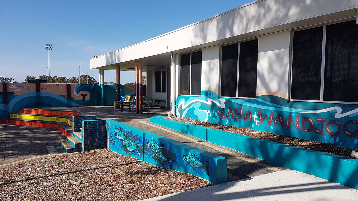 Billy Dower Youth Centre - mural project