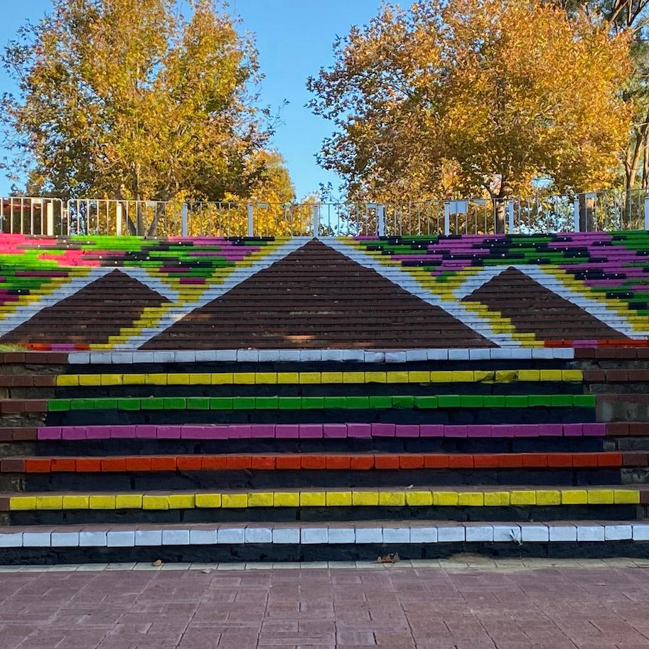 Ascension - Kwinana Fringe Steps mural